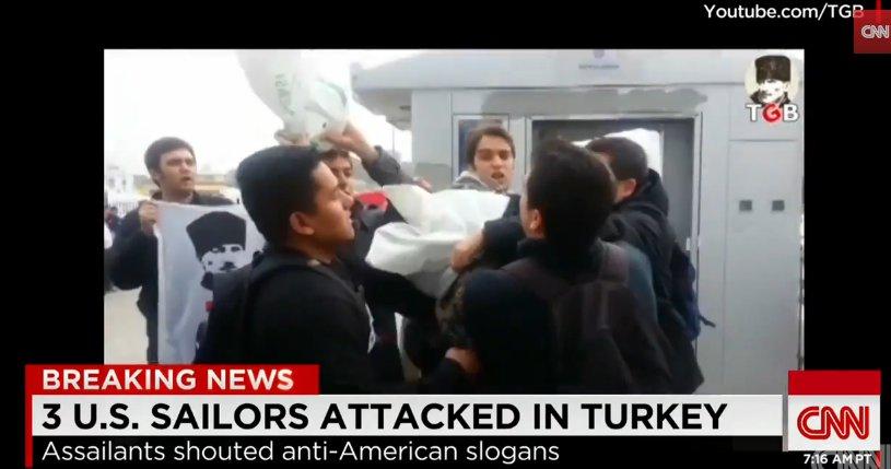 Ataka prieš JAV karius Stambule
