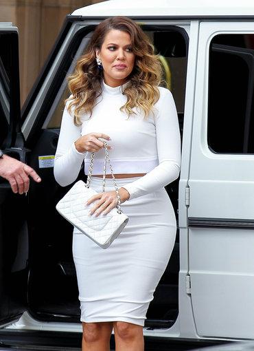 AOP nuotr./Khloe Kardashian