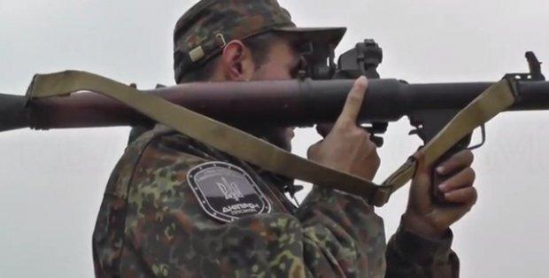 """Diena su """"Dnepr-1"""" batalionu Rytų Ukrainoje"""