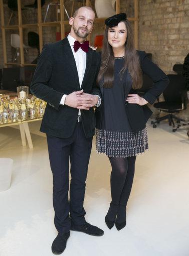 Luko Balandžio/Žmonės.lt nuotr./Žygimantas Stakėnas ir Marija Palaikytė