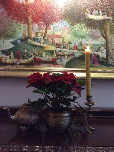 Asmeninio albumo nuotr./Kalėdinės Rūtos Mikelekvičiūtės dekoracijos