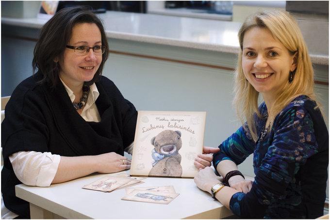 Ingos Stankevičienės nuotr./ Rasa Kaper ir Evelina Daciūtė (dešinėje)