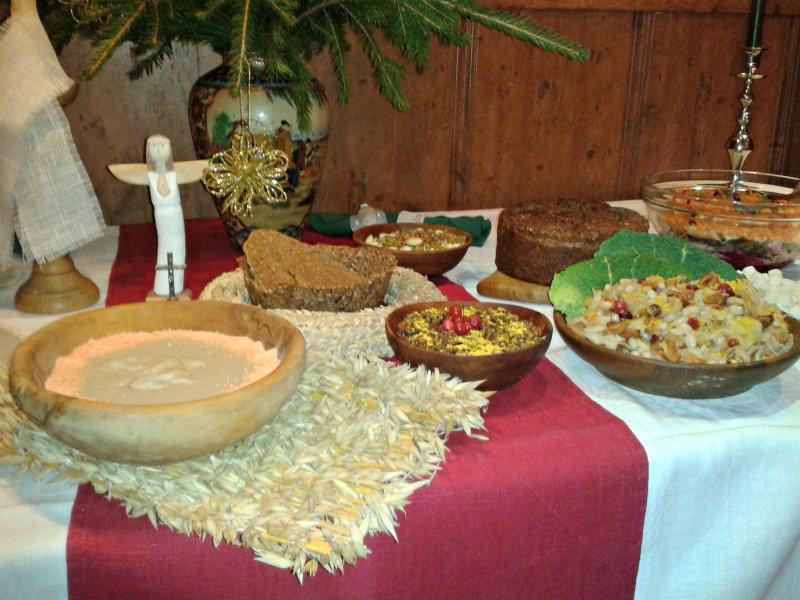 Tradicinis Kūčių stalas