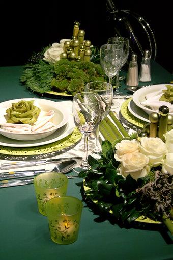Shutterstock nuotr./Kalėdų stalo serviravimas.