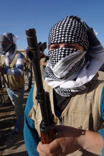 """""""Scanpix""""/AP nuotr./Kurdės, pasirengusios kovai su """"Islamo valstybe"""""""