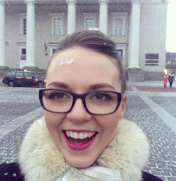Evelina Anusauskaitė-Young Lietuvoje