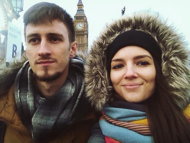 Asmeninio albumo nuotr./Matas Kolpertas ir Simona Burbaitė