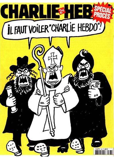 """2007 m. – """"Charlie Hebdo"""" turi būti uždengtas šydu"""""""