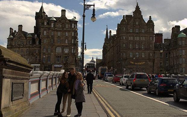 Rastoje atminties kortelėje užfiksuotos šeimos atostogos Škotijoje