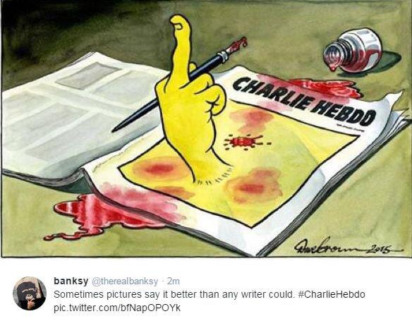 """Atsakas į islamistų išpuolį """"Charlie Hebdo"""" redakcijoje"""