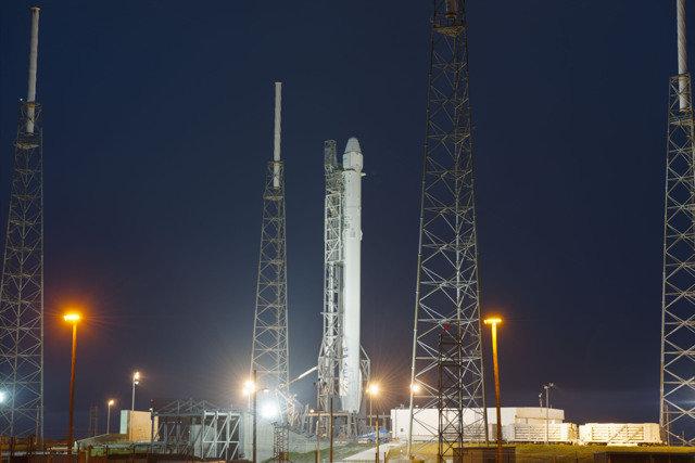 """SpaceX"" raketa"