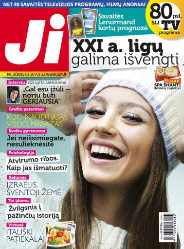 """Redakcijos archyvo nuotr./Žurnalo """"Ji"""" viršelis (3) nr."""
