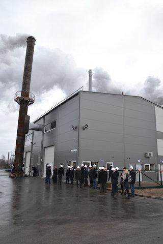 Neseniai pastatyta naujoji Kazlų Rūdos katilinė kūrenama biokuru