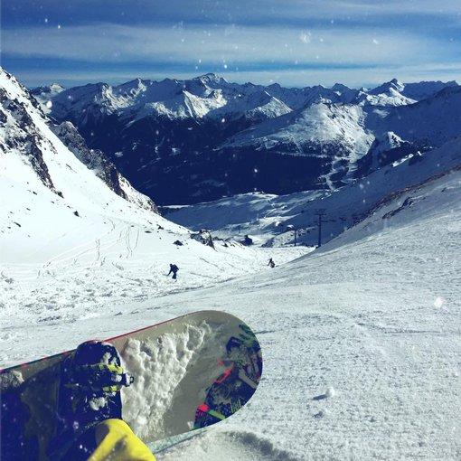 Asmeninio albumo nuotr./Ugnius Kiguolis slidinėjo Austrijoje