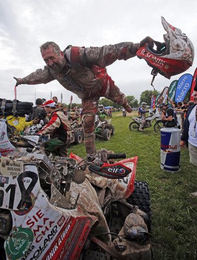"""AFP/""""Scanpix"""" nuotr./Dakaro nugalėtojas Rafalas Sonikas"""