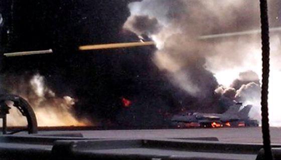 NATO naikintuvo katastrofa Ispanijoje