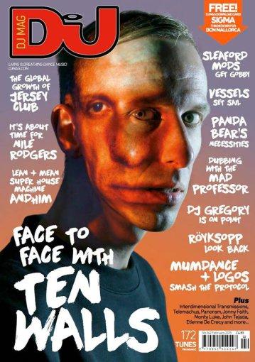 """""""DJ Mag"""" 2015 metų vasario mėnesio žurnalo viršelis/""""Ten Walls"""""""