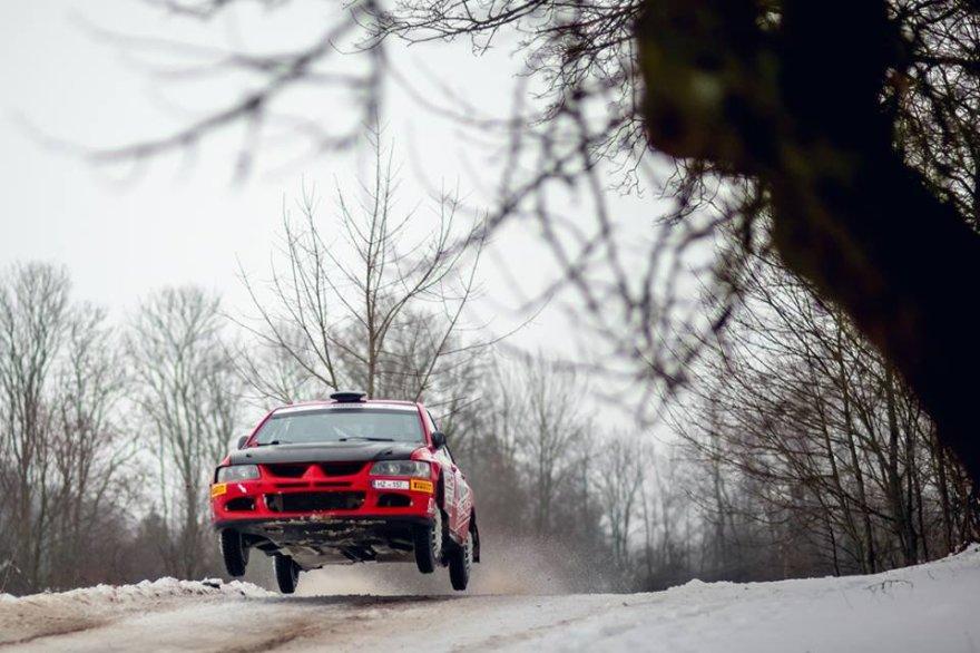 "Andriaus Lauciaus nuotr./""Halls Winter Rally"" akimirka"