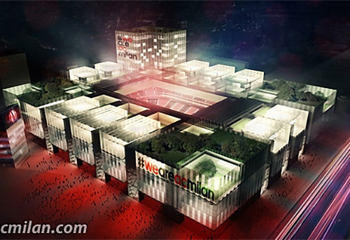 """""""Milan"""" stadiono projektas"""