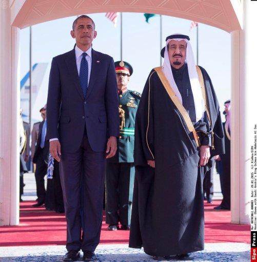 """Scanpix""/""Sipa USA"" nuotr./Barackas Obama Saudo Arabijoje"