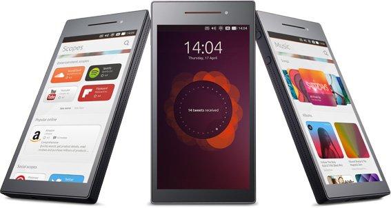 """""""Acquarius E4.5"""" - pirmasis telefonas su """"Ubuntu"""" operacine sistema"""
