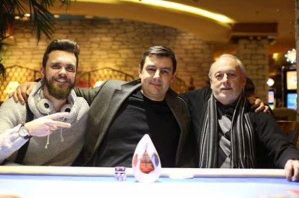 Kęstutis Šulcas (kairėje), Agnius Ismailovas ir Grigorijus Rudnikas