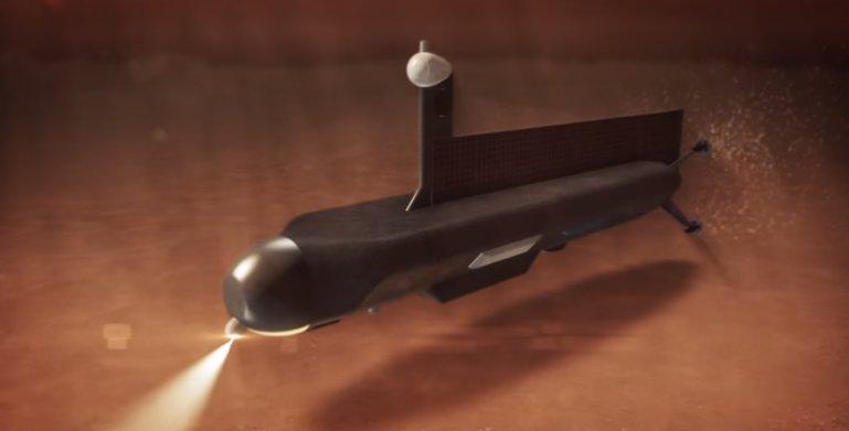 Povandeninio NASA laivo Titane koncepcija