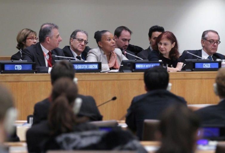 Jungtinių Tautų Kovos su terorizmu komiteto susitikimas