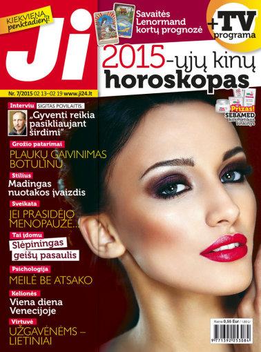 """Redakcijos archyvo nuotr./Žurnalo """"Ji"""" viršelis (7 nr.)"""