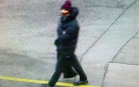 Kopenhagos policijos nuotr./Įtariamasis užpuolikas