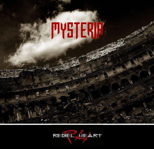 """Asmeninio albumo nuotr./""""Rebelheart"""" albumo """"Mysteria"""" viršelis"""