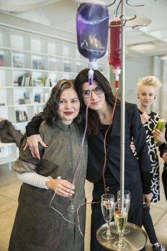 Viganto Ovadnevo/Žmonės.lt nuotr./Sandra Straukaitė ir Renata Mikailionytė