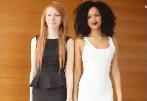 Dvynės Lucy (kairėje) ir Maria