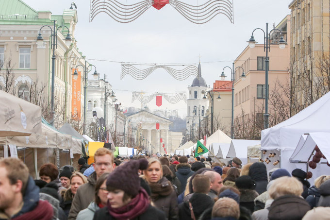 Juliaus Kalinsko/15min.lt nuotr./Kaziuko mugė Vilniuje