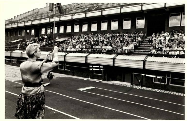 """Studentų dainų šventė """"Gaudeamus"""", 1988 m."""