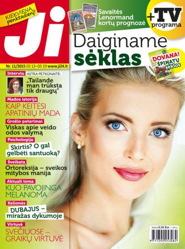 """Redakcijos archyvo nuotr./Žurnalo """"Ji"""" viršelis (11 nr.)"""