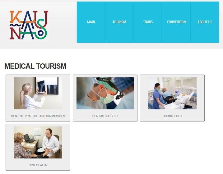 Kaunas sieks tapti Šiaurės Europos medicinos turizmo sostine