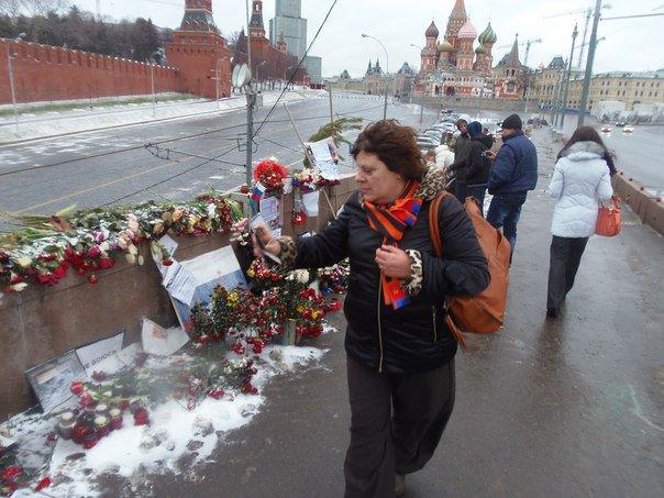 Vandalai nusiaubė B.Nemcovo žūties vietą