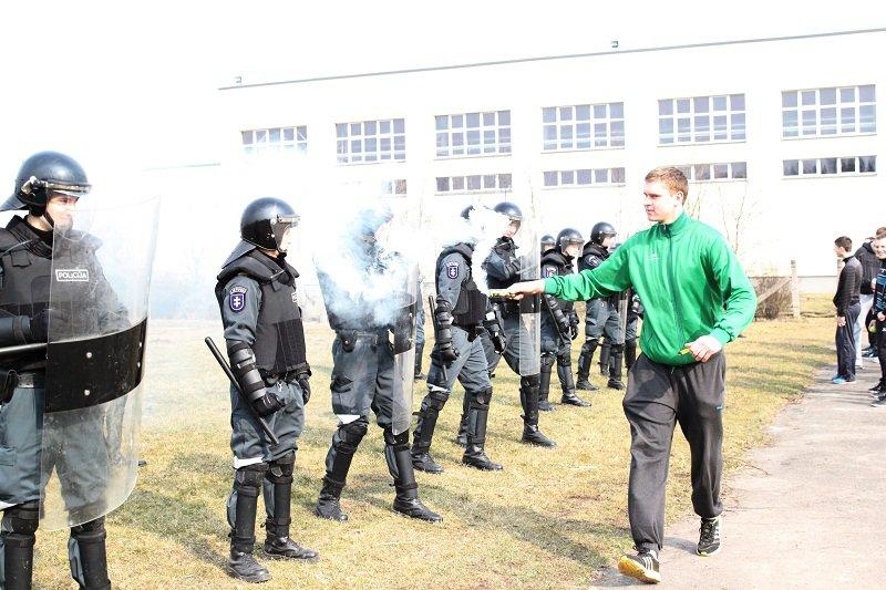 Lietuvos policijos mokyklos kursantų mokymai