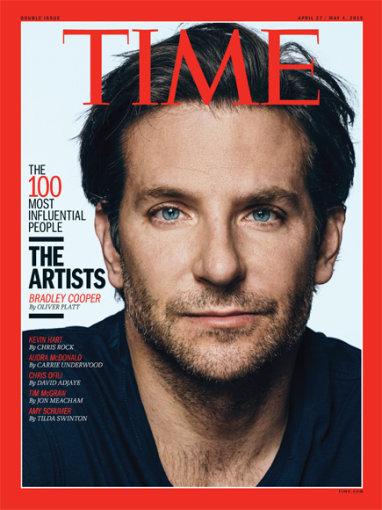 "Žurnalo ""Time"" viršelis/Bradley Cooperis"