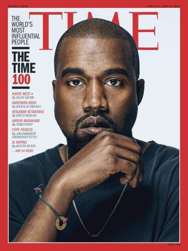 "Žurnalo ""Time"" viršelis/Kanye Westas"