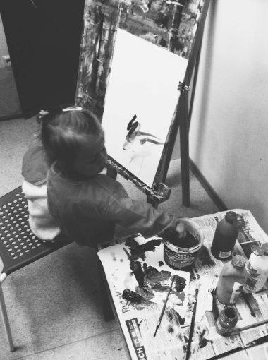 """""""D.EFECT"""" nuotr./Eglės Žiemytės dukra Sofija"""