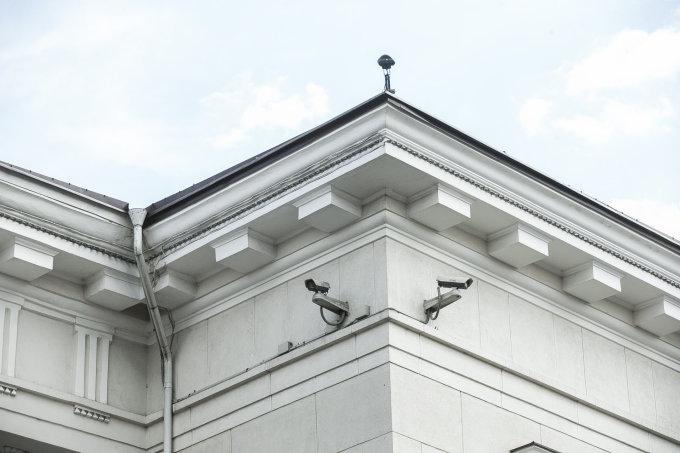 Viganto Ovadnevo nuotr./Rotušės kameros