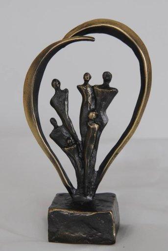 Santariškių klinikų nuotr./Apdovanojimų statulėlė