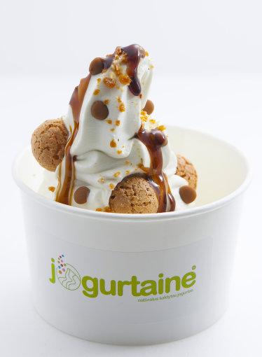 """""""Jogurtainės"""" nuotr./""""Jogurtainės"""" šaldytas jogurtas"""