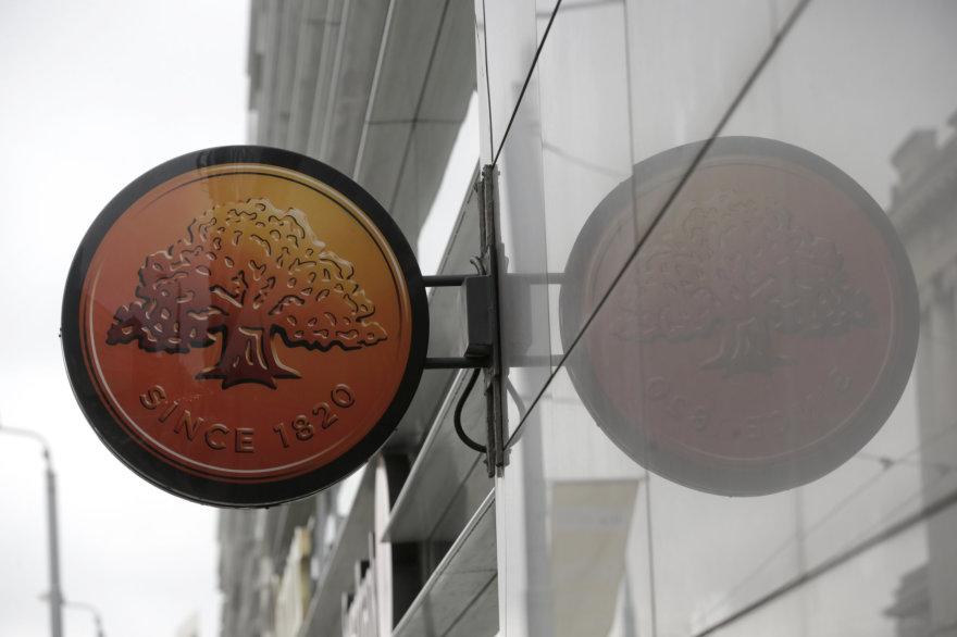 """Reuters""/""Scanpix"" nuotr./""Swedbank"" banko logotipas"