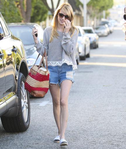 Vida Press nuotr./Aktorė ir dainininkė Emma Roberts