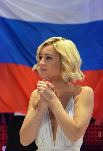 """""""Scanpix""""/AP nuotr./Rusijos atstovė Polina Gagarina"""
