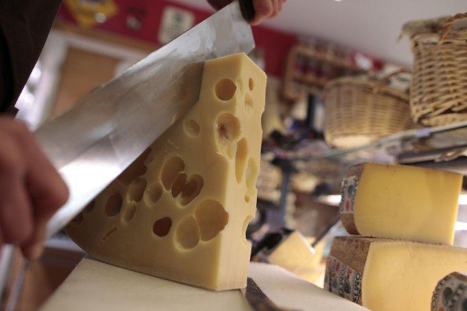 Scanpix nuotr./Šveicariškas sūris