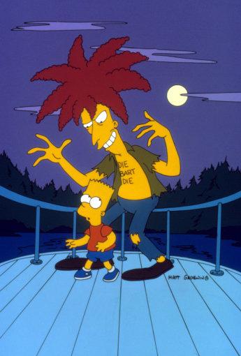 Vida Press nuotr./Bartas Simpsonas ir padėjėjas Bobas